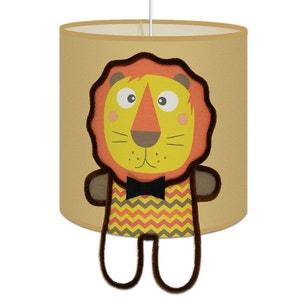 Suspension Lumineuse ' Le LION ' chambre enfant garçon ART ET LOUPIOTE