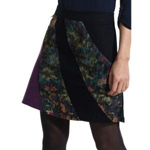 Jupe Candi trapèze imprimée floral. SMASH