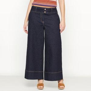 Wide Leg Cropped Jeans CASTALUNA