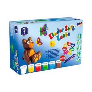 FEUCHTMANN La pâte à modeler pour enfants Soft, Basic Maxi FEUCHTMANN