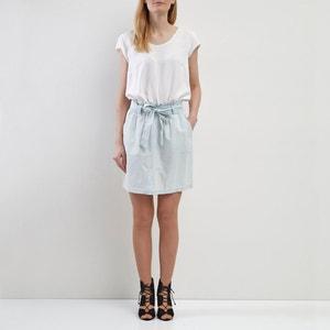Falda corta ceñida en la cintura VILA