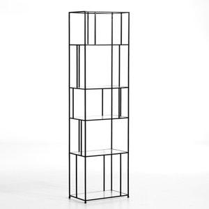 Bibliothèque Parallel métal/verre AM.PM.