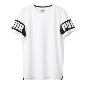 Camiseta lisa, cuello redondo, manga corta PUMA