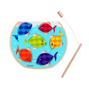 Puzzle Bois Speedy Fish 6 Pièces - JURJ07008 JANOD