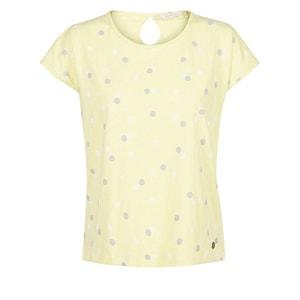 T-shirt met stippenprint en korte mouwen NUMPH