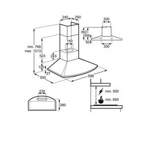 hotte aspirante lectro en solde electrolux la redoute. Black Bedroom Furniture Sets. Home Design Ideas