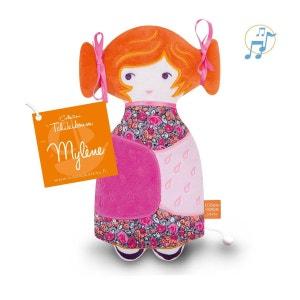 Doudou musical - Tchikiboum : Mylene orange L OISEAU BATEAU