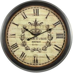 Horloge horloge murale design la redoute - Horloge contemporaine murale ...