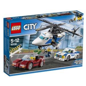 LEGO City - La course-poursuite en hélicoptère - LEG60138 LEGO