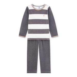 Pyjama robe de chambre gar on en solde petit bateau la redoute - Robe de chambre fille petit bateau ...