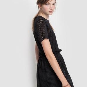 Laser Cut Skater Dress MADEMOISELLE R
