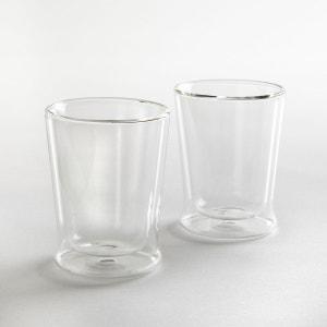 Tasse en verre double-paroi, lot de 2 La Redoute Interieurs