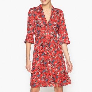 Eden Iridescent Printed Dress BA&SH