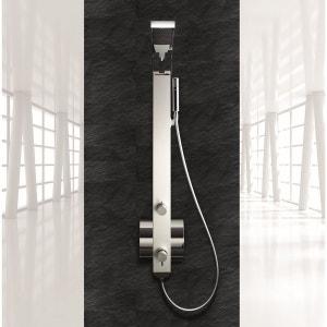 Meuble salle de bain en solde la redoute for Cabine douche study
