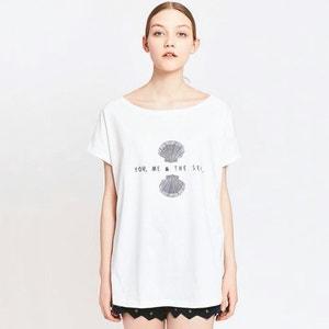 Camiseta amplia estampada MIGLE+ME