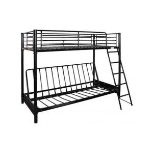 lit 1 place noir la redoute. Black Bedroom Furniture Sets. Home Design Ideas