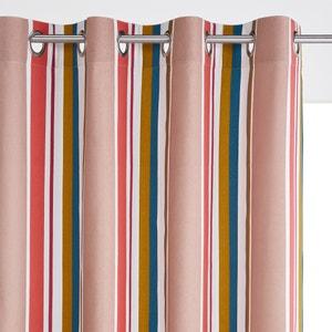 Zasłona w paski, czysta bawełna, na przelotkach, Gaillac La Redoute Interieurs