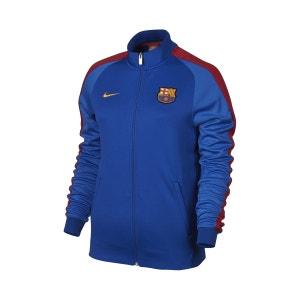 Veste Zip Authentic N98 FC Barcelone Bleu Femme NIKE