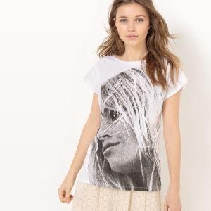 T-shirt imprimé BRIGITTE BARDOT X LA REDOUTE MADAME