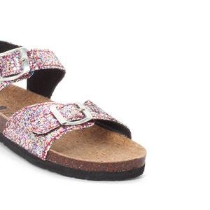 Sandales à paillettes La Redoute Collections