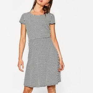 Short Checked Dress ESPRIT