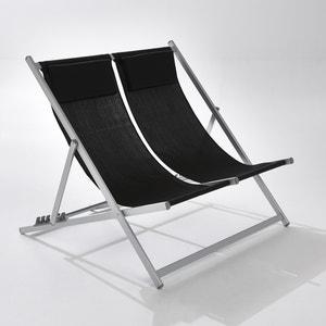 Cadeira dupla, estrutura em alumínio La Redoute Interieurs