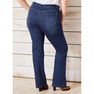 "Jean bootcut stretch ""courbes généreuses"" entrej. CASTALUNA"
