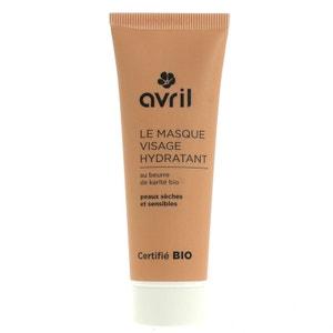 Masque Visage Hydratant Beurre de Karité Peux Sèches Certifié Bio Avril Beauté AVRIL