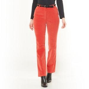 Pantalon en velours milleraies, coton stretch ANNE WEYBURN