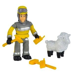 Figurines Sam le pompier : Elvis & Toudou SMOBY