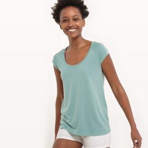 T-shirt manches courtes, modal R essentiel