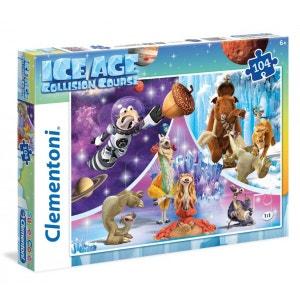 Puzzle 104 pièces : l'Âge de Glace 5 CLEMENTONI
