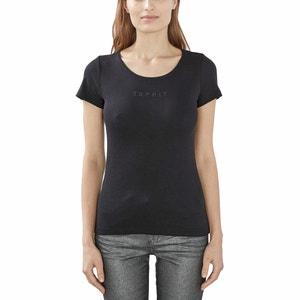 Camiseta de algodón de manga corta ESPRIT