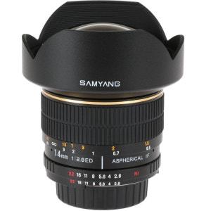 Objectif SAMYANG 14 mm F2,8 CANON (pour reflex CANON) SAMYANG