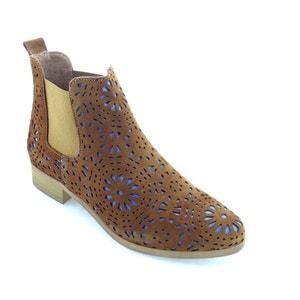 Boots cuir effet ajouré Zola BUNKER
