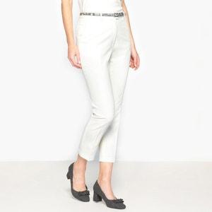 Cropped Stretch Twill Trousers ANNE WEYBURN