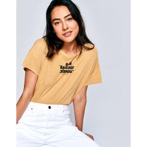 Tee shirt manches courtes avec inscription AYO BELLEROSE