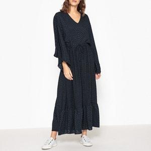 Robe longue à encolure V ULISSE VALERIE KHALFON