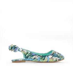 Leaf-Print Ballet Pumps abcd'R