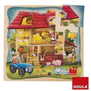 Puzzle Ferme 9 pièces GOULA