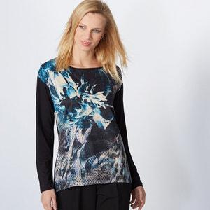 Camiseta estampada, dos tejido ANNE WEYBURN