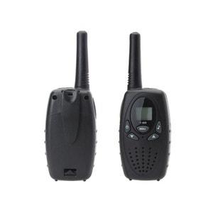 Talkie-walkie longue portée 3 à 5 km 8 canaux écran LCD push to talk Yonis
