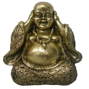 Bibelot en Résine Bouddha or 10 cm - Ne pas Entendre UNITED LABELS
