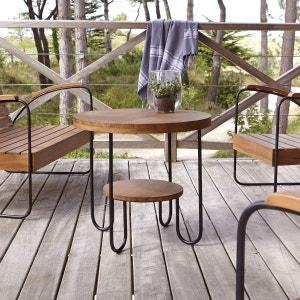 Table basse d'extérieur en teck Key Wood TIKAMOON