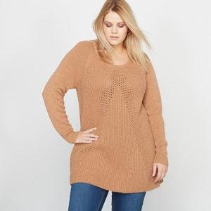 Sweter z fałdami CASTALUNA