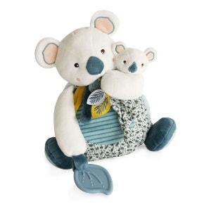 Mum & Baby Koala Soft Toy with Teething Ring - 25cm