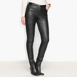 Pantalon bi-matière ANNE WEYBURN