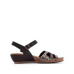 Sandales compensées cuir Tokanne KICKERS
