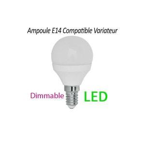 Ampoule LED E14 470 Lumen dimmable 5 W ronde remplace 45 W MILLUMINE