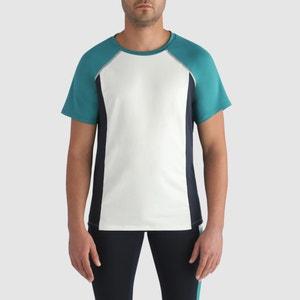 Effen T-shirt met ronde hals en korte mouwen DIM SPORT